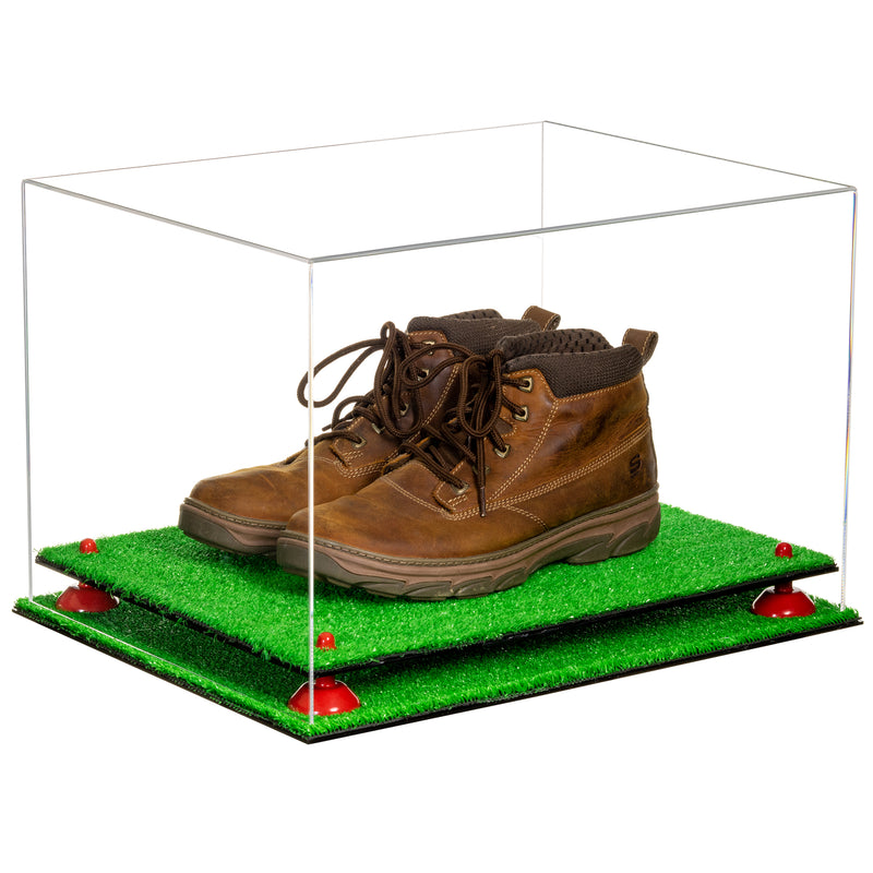 Acrylic Shoe Pair Display Case 18 x 14 x 12 - Clear (A014/V60)