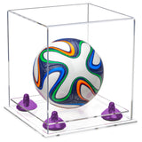 Clear Mini Siccerball Display Case