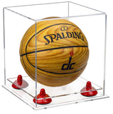 Clear Mini Basketball Display Case