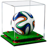 Clear Mini Soccer Ball Display Case