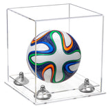 Clear Soccerball Display Case