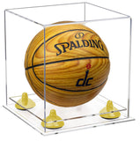 Clear Acrylic Mini Basketball Display Box with Clear Base