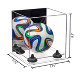 7.75x7.75x8.50 Mini Ball Display Case