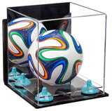 Small Soccer Ball Case with Wall Mount
