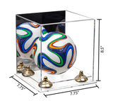 7.75x7.75x8.50 Mini Soccer Ball Display Case