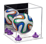 Mini Soccer Ball Case with Risers
