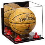 Mirrored Mini Basketball Display Case with Wall Mount