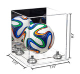 7.75x7.75x8.50 Soccer Ball Display Case