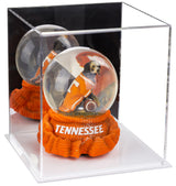 "Small Acrylic Display Case 7.75""x7.75""x8.5"" w/ Clear or Mirror, Black or White Floor A015/B03"