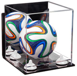 Mini Ball Case with Mirror and Wall Mount