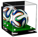 Wall Mounted Mini Soccer Ball Display Case
