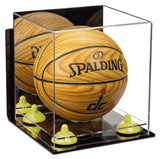 Wall Mounted Mini Basketball Display Box with Risers