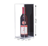 Deluxe Clear Acrylic Wine Bottle Display Case (A017), Display Case, Better Display Cases, Better Display Cases - Better Display Cases