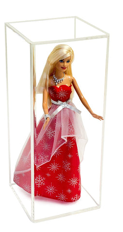 Deluxe Acrylic Doll Display Case <br> <sub> Barbies, Figurines, and more! <br>(A017)</sub>, Display Case, Better Display Cases, Better Display Cases - Better Display Cases