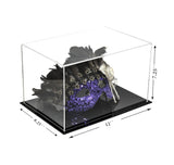"Versatile Acrylic Display Case, Cube, Dust Cover and Riser <br><sub>12"" x 8.25"" x 7.25"" (A018-DS), Display Case, Better Display Cases, Better Display Cases - Better Display Cases"