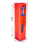 Deluxe Acrylic Football <br>End Zone Pylon<br>Wall Mount Display Case, Display Case, Better Display Cases, Better Display Cases - Better Display Cases