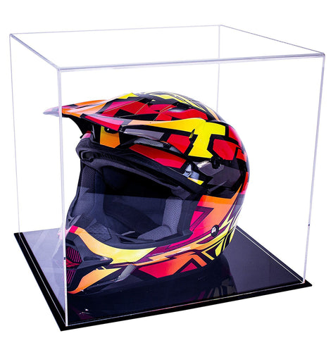 Clear Black Double Sheet MotorCross Nascar Helmet Case