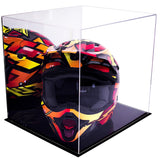 Mirror Black Double Sheet MotorCross Nascar Helmet Case