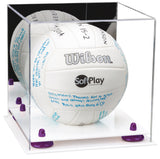 Acrylic Volleyball Display Box with Mirror