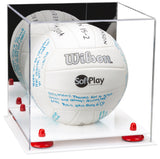 Mirrored Volleyball Display Case