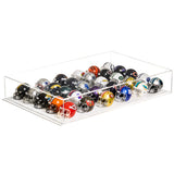 Acrylic Deluxe Clear Miniature Pocket Size Football or Baseball Helmet Collection Display Case (A029-B)