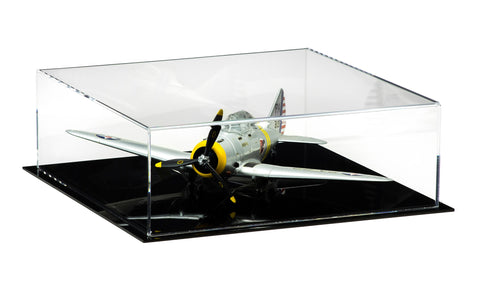 Model Airplane Display Case with UV Protection