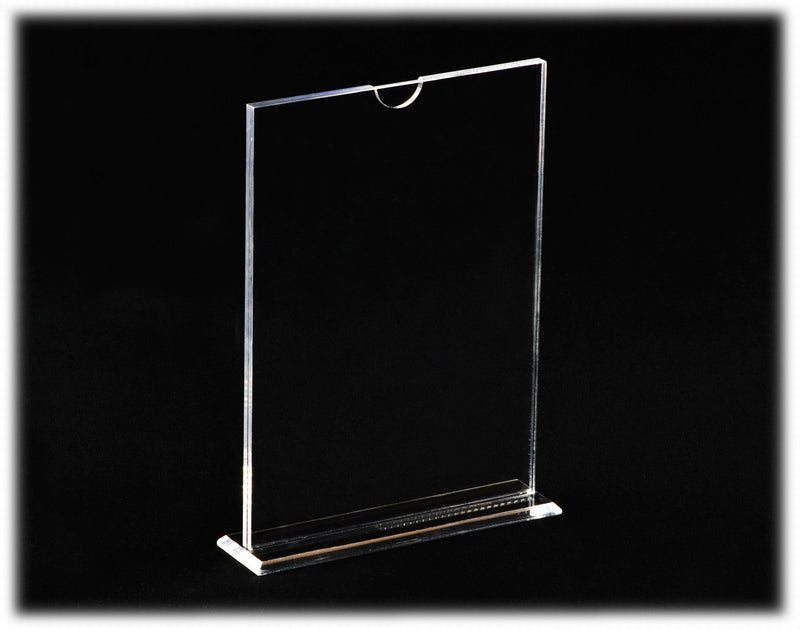 Deluxe Clear Acrylic <br>Picture Frame, Display Case, Better Display Cases, Better Display Cases - Better Display Cases