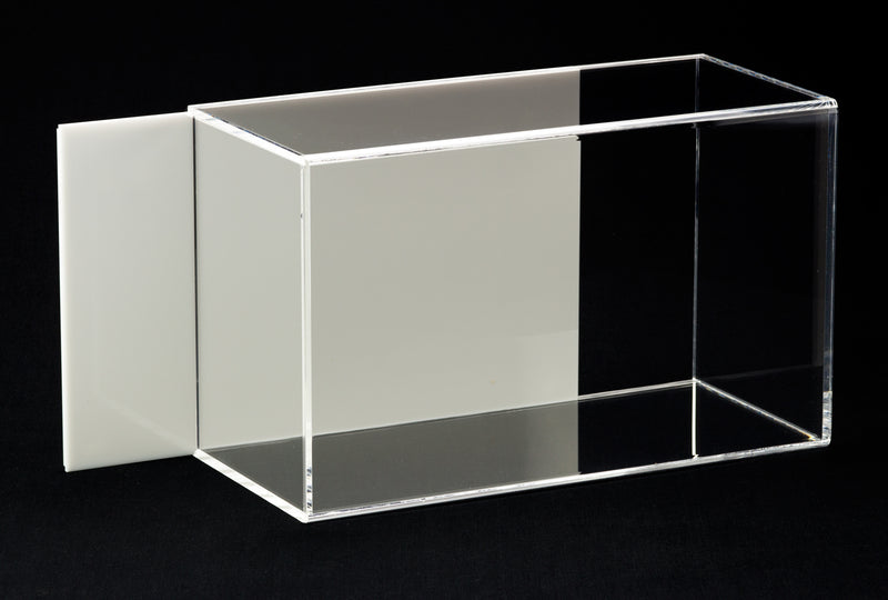 Acrylic Boxing Glove Display Case with Sliding Back A044/V17