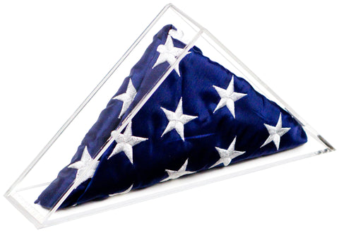 Deluxe Acrylic Extra Large Flag Memorabilia Display Case <br><sub>for 6' x 10' Flag <br>(Table Top or Wall Mount), Display Case, Better Display Cases, Better Display Cases - Better Display Cases