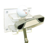 Golf Ball and Putter Combo Wall Mount
