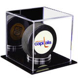 "Small Acrylic Display Case 4""x4""x4""Clear or Mirror, White or Black Floor A057/V23"