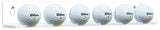 Acrylic Vertical Golf Ball Wall Mount Bracket A066/SH026