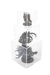 "Deluxe Acrylic Cube Display Nesting Risers Set of Three - 3"" cubes, 4"" cubes and 5"" cubes, Display Case, Better Display Cases, Better Display Cases - Better Display Cases"