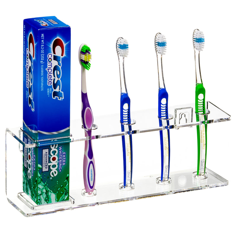 Acrylic Toothbrush Holder (A107)