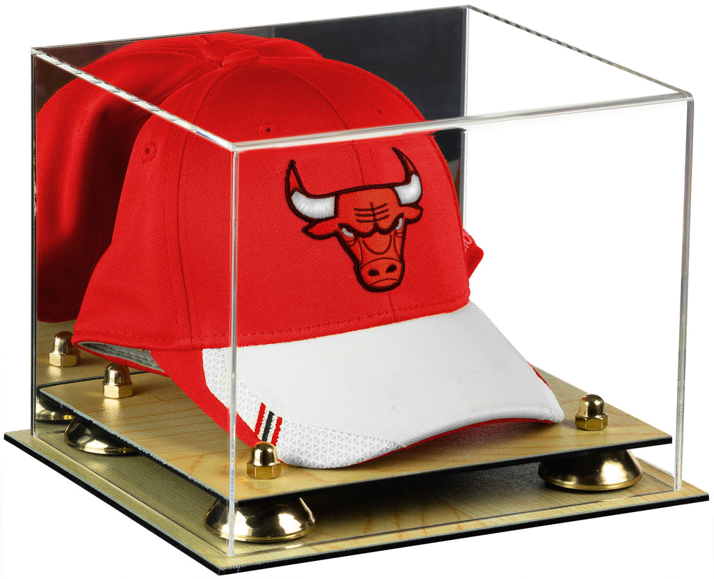 34d15097a1b Deluxe Acrylic Basketball Hat or Cap Display Case with Mirror ...