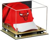 Mirrored Basketball Hat or Cap Display Case