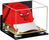Basketball Hat or Cap Display Case with Wall Mount