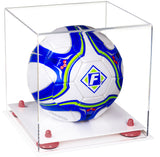 Clear Acrylic Soccer Ball Display Case
