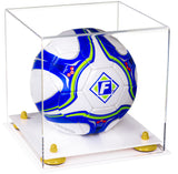 Clear Acrylic Soccer Ball Display Box