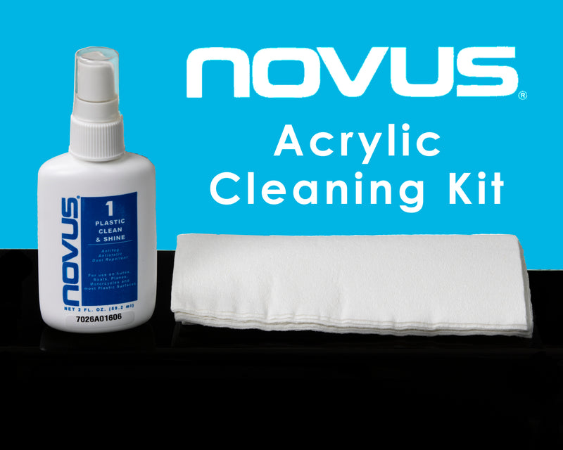 NOVUS Acrylic Cleaning Kit by Better Display Cases