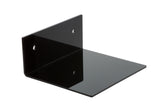 Deluxe Clear or Black Acrylic<br> Wall Mounted Floating Shelf, Display Case, Better Display Cases, Better Display Cases - Better Display Cases