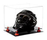 Clear Acrylic Catchers Helmet Display Case