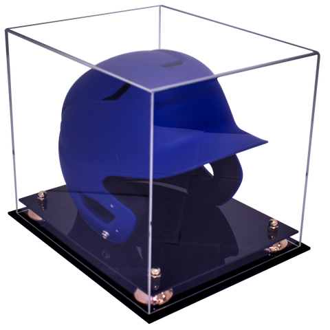 Baseball Helmet <br> Clear Display Case<br> <sub> For MLB, NCAA, and more, Display Case, Better Display Cases, Better Display Cases - Better Display Cases