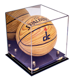 mini basketball case, with risers, with mirror, black base
