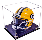 Football Helmet <br> Clear Display Case <br> <sub> NFL, NCAA, and more! </sub>, Display Case, Better Display Cases, Better Display Cases - Better Display Cases