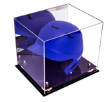 Baseball Helmet <br> Display Case <br> With Mirror<br> <sub> For MLB, NCAA, and more </sub>, Display Case, Better Display Cases, Better Display Cases - Better Display Cases