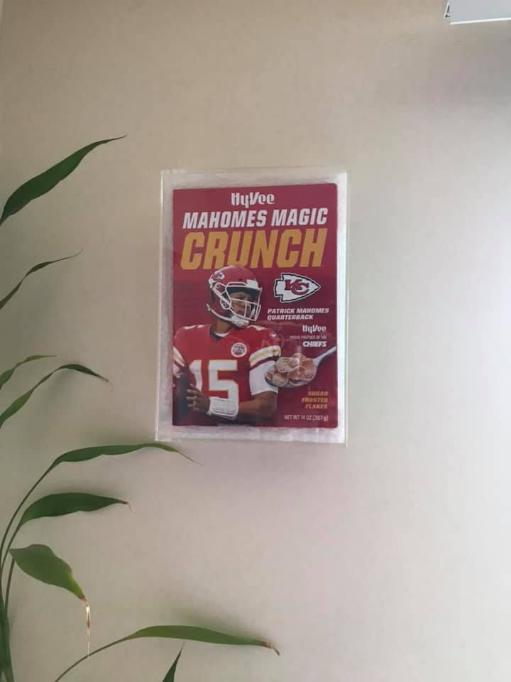 Cereal Box Display image Eleonore Maria Turner