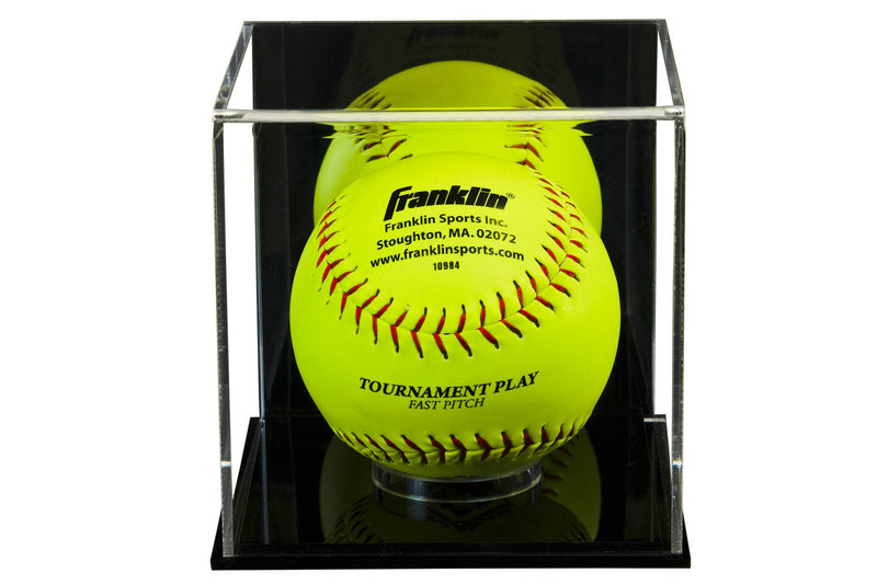 Better Display Cases Acrylic Softball Display Case