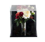 Deluxe Clear Acrylic<br>Collectible Wedding<br>Flower Bouquet <br>Display Case<br><sub>(Wall Mount and Table Top), Display Case, Better Display Cases, Better Display Cases - Better Display Cases