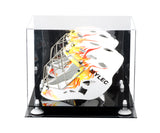Lacrosse Helmet <br> Full Size Display Case <br> With Mirror<br> <sub> MLL, NCAA, and more! </sub>, Display Case, Better Display Cases, Better Display Cases - Better Display Cases